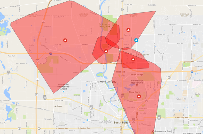 I M Power Outage Leaves 6 500 Customers Including 95 3 Mnc Without