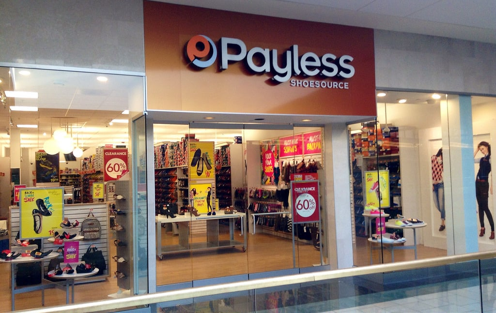 647f1f7db Benton Harbor Payless ShoeSource location among 400 to close - 95.3 MNC