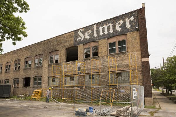 Former Conn-Selmer plant in Elkhart to get new life as