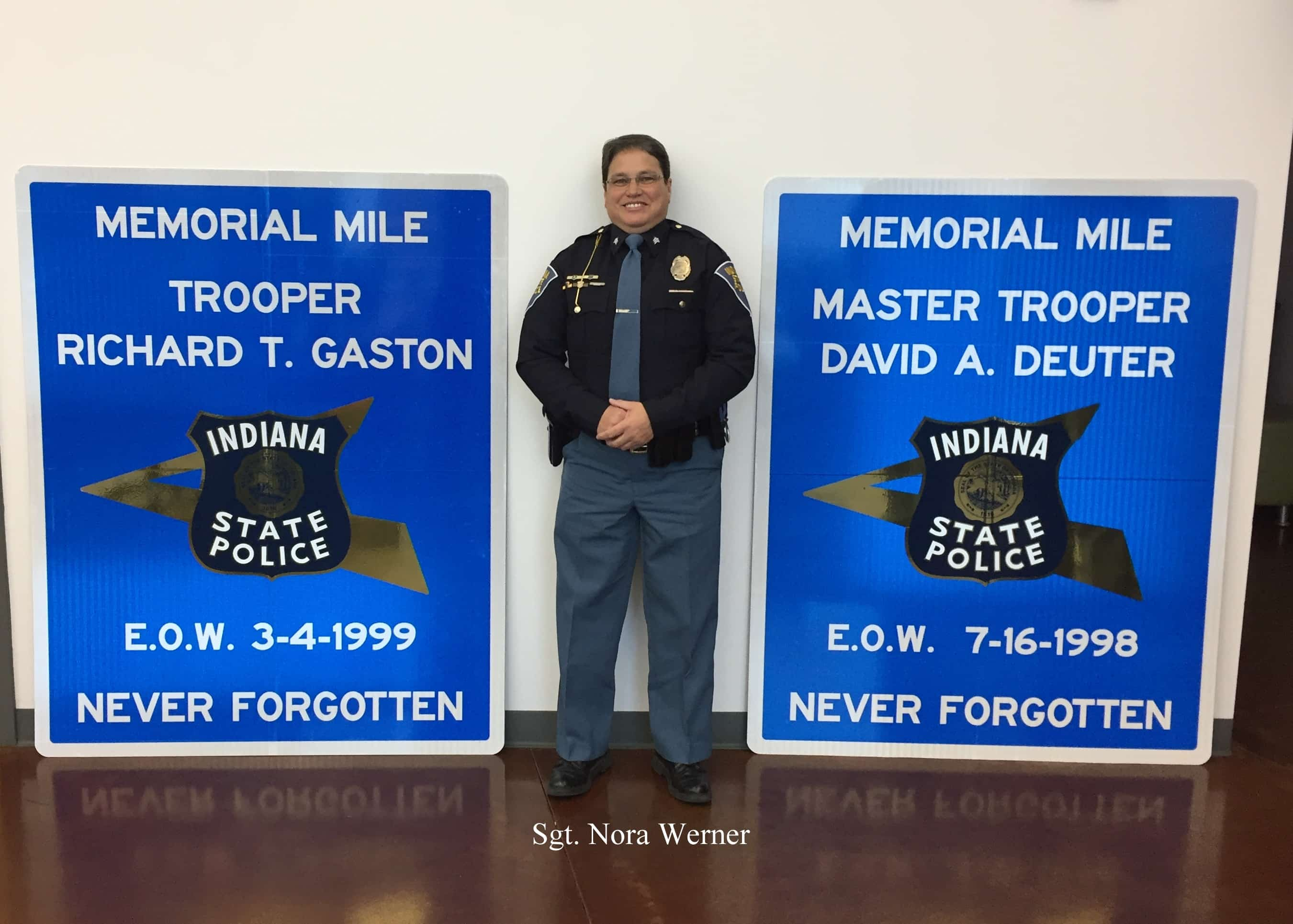 Indiana State Police, Elkhart Police Department to honor