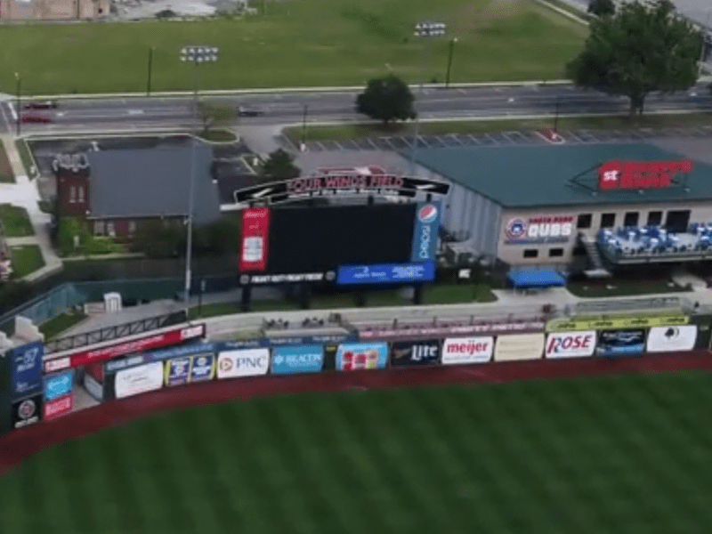 South Bend Cubs Step Up To Aid Neighboring Church 95 3 Mnc