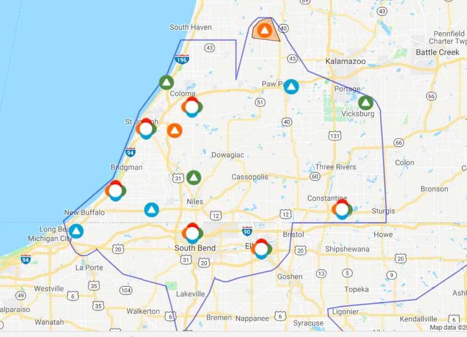 Power Outages Damage Reported After Overnight Storms Blow Through