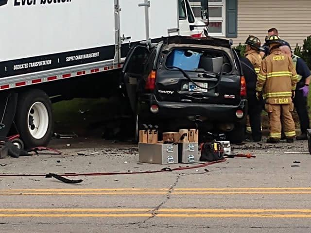 One Person Killed Four Others Injured After Crash On