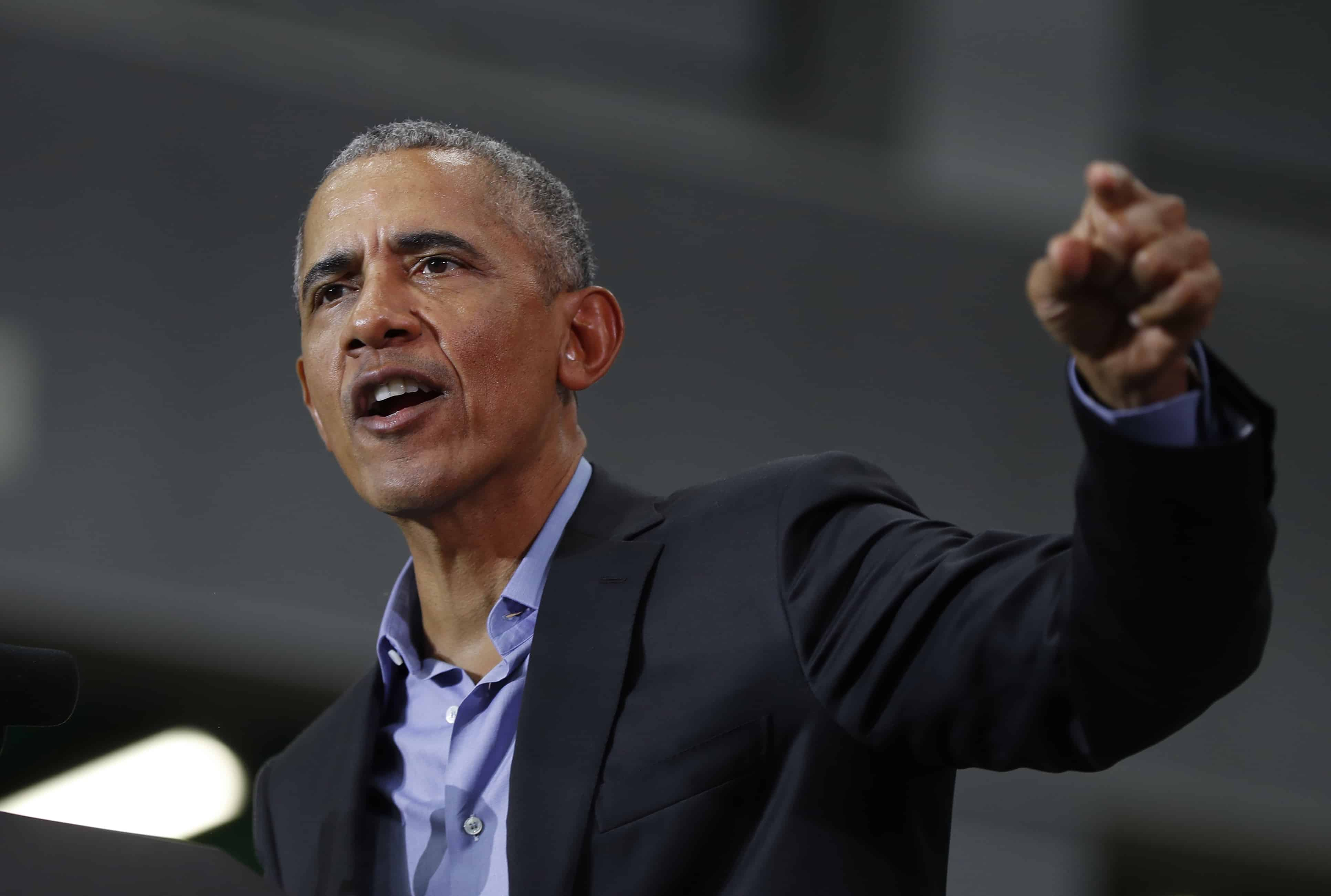 Obama visiting Indiana for rally between Trump's twin ...
