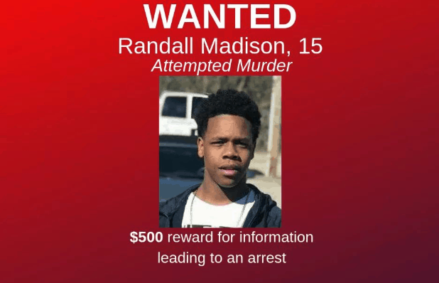 15-year-old boy wanted for attempted murder in connection to